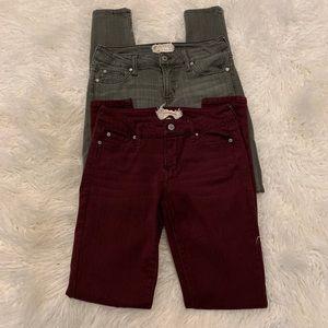 Skinny Jean Bundle size 27